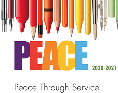 Aurora Noon Lions Club Peace Poster Contest